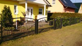 Foto 4 Zaunbau Metallzaun Gartenzaun Schmiedezaun Pforte Tor aus Polen – 15%