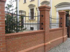 Foto 6 Zaunbau Metallzaun Gartenzaun Schmiedezaun Pforte Tor aus Polen – 15%