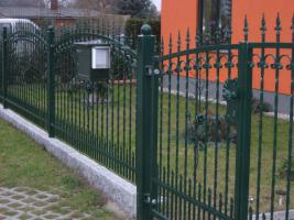 Foto 9 Zaunbau Metallzaun Gartenzaun Schmiedezaun Pforte Tor aus Polen – 15%