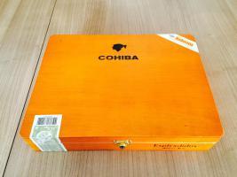 Zigarren: Cohiba Esplendidos 25er-Kiste direkt aus Kuba Kaufdatum 27.12.2015 OVP Lagerung: Humidor