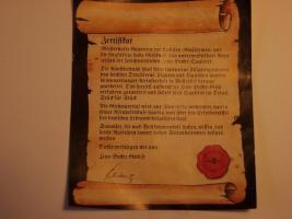 Zinnbecher Wappen, landw. Motive und ein Zinnrömer zu verkaufen