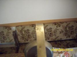 Foto 2 Zinnkerzenständer (Kerzenständer Zinn) Höhe ca. 20 cm