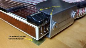Foto 8 Zither Spielhilfe Handauflage für Zither leicht zu montieren