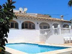 Foto 4 Zu vermieten: Schöne Villa mit Privatpool in Calpe - Costa Blanca