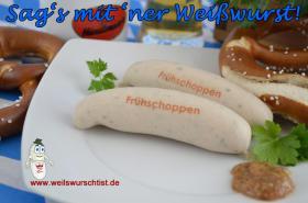 Foto 6 Zugis Würstl® - Weißwürste mit Motiv