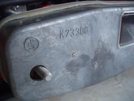 Foto 3 Zwei Heckleuchten Mercedes W 110/W111 ungebraucht