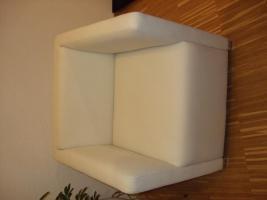 Foto 2 Zwei sehr gut erhaltene, schöne, moderne & kaum benutzte weiße Sessel zu verkaufen