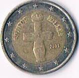 Zypern 2 Euro Kursmünze '' 2008 '' !