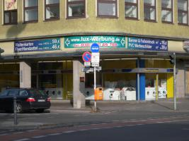Foto 5 ab 16 €/m² Werbebanner Werbeplane Planendruck Bannerdruck Foliendruck Partybanner PVC Banner LKW Plane Großformatdruck Megaposter Berlin Werbung