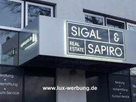 Foto 9 ab 59 EUR LED Leuchtbuchstaben Profilbuchstaben 3D Einzelbuchstaben leuchtwerbung Leuchtschilder Leuchtkasten Leuchtreklame 3D Plexibuchstaben mit LED Beleuchtung Werbeschilder Leuchtschilder Leuchtreklame für Gewerbeimmobilien Berlin München