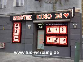 Foto 15 ab 59 EUR LED Leuchtbuchstaben Profilbuchstaben 3D Einzelbuchstaben leuchtwerbung Leuchtschilder Leuchtkasten Leuchtreklame 3D Plexibuchstaben mit LED Beleuchtung Werbeschilder Leuchtschilder Leuchtreklame für Gewerbeimmobilien Berlin München
