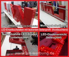 Foto 3 ab 59 €/m² Schilder Werbeschilder Bauschilder Infoschilder Praxisschilder Dibond Dibondschilder Leuchtschilder Leuchtwerbung Außenwerbung Leuchtreklame Leuchtbuchstaben 3D Beleuchtete Plexibuchstaben Berlin