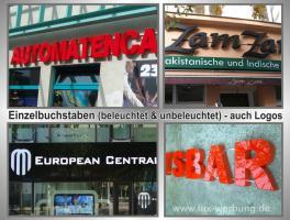 Foto 6 ab 59 €/m² Schilder Werbeschilder Bauschilder Infoschilder Praxisschilder Dibond Dibondschilder Leuchtschilder Leuchtwerbung Außenwerbung Leuchtreklame Leuchtbuchstaben 3D Beleuchtete Plexibuchstaben Berlin