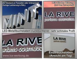 Foto 7 ab 59 €/m² Schilder Werbeschilder Bauschilder Infoschilder Praxisschilder Dibond Dibondschilder Leuchtschilder Leuchtwerbung Außenwerbung Leuchtreklame Leuchtbuchstaben 3D Beleuchtete Plexibuchstaben Berlin