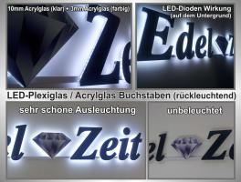 Foto 8 ab 59 €/m² Schilder Werbeschilder Bauschilder Infoschilder Praxisschilder Dibond Dibondschilder Leuchtschilder Leuchtwerbung Außenwerbung Leuchtreklame Leuchtbuchstaben 3D Beleuchtete Plexibuchstaben Berlin