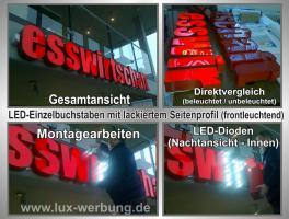 Foto 9 ab 59 €/m² Schilder Werbeschilder Bauschilder Infoschilder Praxisschilder Dibond Dibondschilder Leuchtschilder Leuchtwerbung Außenwerbung Leuchtreklame Leuchtbuchstaben 3D Beleuchtete Plexibuchstaben Berlin