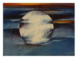 abstrakte Moderne Kunst Original Gemälde Ölbild Bild Malerei