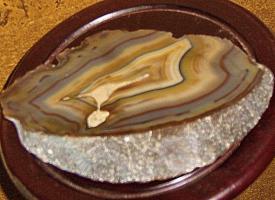 Foto 3 achatkeil  edelstein  23cm breit