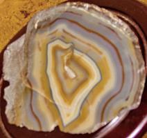 Foto 6 achatkeil  edelstein  23cm breit
