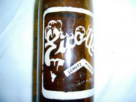 Foto 4 alte Limonadenflasche