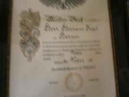 Foto 3 alte Meisterbriefe