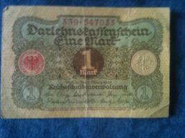 alte banknoten (geldscheine)