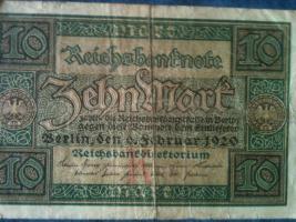 Foto 3 alte banknoten (geldscheine)
