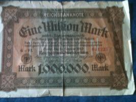 Foto 7 alte banknoten (geldscheine)