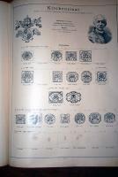 Foto 2 altes Briefmarkenalbum