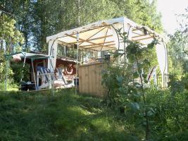 Lachsfluss schweden ferienhaus am see 045529947199 4-6 pers. sauna sat