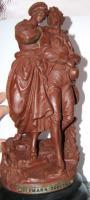 antike Figur aus Metall