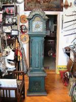 unikat einer dänischen barocken Standuhr datiert auf 1740