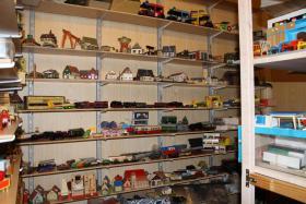 ein kleiner Einblick in unser Spielzeug- Modelleisenbahnen- und Dampfm