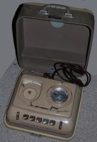 antiquarisches Diktiergerät mit Koffer