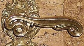 Foto 2 barocke türklinke mit blende