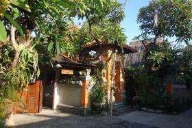 bed and breakfast in privater villa, sanur, bali, indonesien