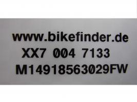 Foto 2 bikefinder Fahrradcodierung online in Buxtehude