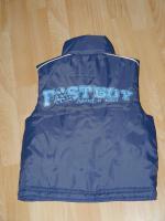 Foto 2 blaue Weste ''Fastboys'' von BERTI in der Größe 104