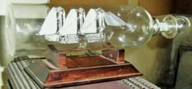 Foto 6 buddelschiff  glas im glas