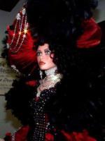 carmen red /black  von rustie doll