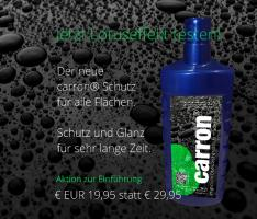 Foto 2 carron® Auto Kfz Politur Versiegelung Lotuseffekt made in germany