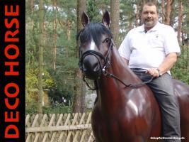 Foto 2 deck pferd deco horse zum aufsitzen gibts dass ...