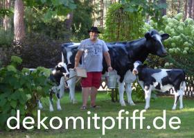 Foto 6 dein nachbar hat ne deko kuh und dein anderer nachbar ein deko pferd und du … ja dann hol dir einen deko stier ...