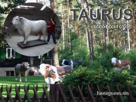 deine Deko Kuh steht ganz allein im Garten ja dann hol ihr einen Deko Bullen dazu ...