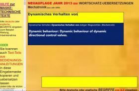 Foto 3 deutsch-englisch Textuebersetzung: Montage Inbetriebnahme Anlage Maschine Wartung Reparatur