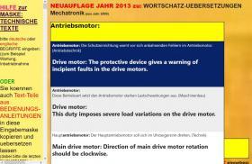 Foto 4 deutsch-englisch Textuebersetzung: Montage Inbetriebnahme Anlage Maschine Wartung Reparatur