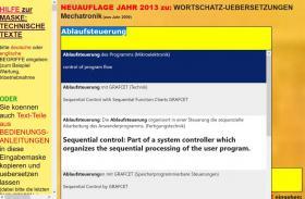 Foto 5 deutsch-englisch Textuebersetzung: Montage Inbetriebnahme Anlage Maschine Wartung Reparatur