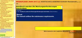 Foto 6 deutsch-englisch Textuebersetzung: Montage Inbetriebnahme Anlage Maschine Wartung Reparatur