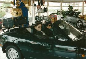 im Autosalon