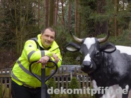 Foto 3 echt cool das gezeigte deko kalb gibts gratis dazu beim kaufe einer deko kuh lebensgross ….